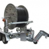 Cable Drum Transport and Tube Laying Trailer.