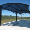 carports/danpallons,skylights and steel works with hard/epoxy,3-d floors