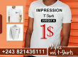 IMPRESSION SUR T-SHIRT, MASQUE DE PROTECTION