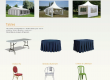 Location bâche,stand,chaise,podium,sonorisation…