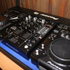 2x pioneer cdj400 + DJM400 Mixer + coffin case + headphones(Blue Limited Edition)