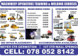 Forklift Mcahinery Operator Training in Durban East london Polokwane Call 0780528142