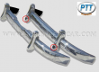 Mercedes benz 180/190 ponton stainless steel bumper