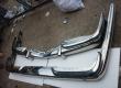 Mercedes benz w100 stainless steel bumper