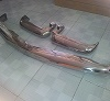 Mercedes benz w113 stainless steel bumper