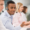 call centre client service agents