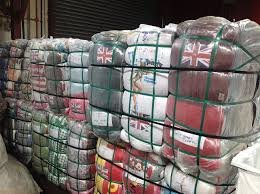 BALES OF CLOTH AND BALE OF SHOES GRADE A,