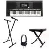 Yamaha PSR S970 Arranger Workstation Keyboard Bundle