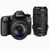 Canon EOS 70D DSLR Camera Kit with 18-135mm and 70-300mm Lenses