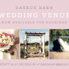 WEDDING VENUE DASBOS BARN AT THE PENDENNIS FARM