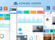 Admire – Bootstrap 4 Admin + Laravel Template