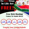 Free Website Hosting South Africa