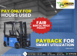 Electric Forklift Fair Rental Price Policy