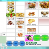 System for restaurant, café, hairdressing, food, etc.