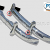 Mercedes benz 180/190 ponton stainless steel bumper