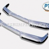 Volvo P1800SE Stainless Steel Bumper
