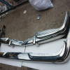 Mercedes benz w100 stainless steel bumper