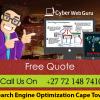 SEO Services Company in Cape Town
