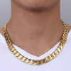 SPRING SPECIAL- 12 MM X 600 MM REAL 24 K GOLD FILLED CHAINS END ON 30 SEPT.