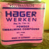 HAGER WERKEN EMBALMING POWDER HOT 0786655025