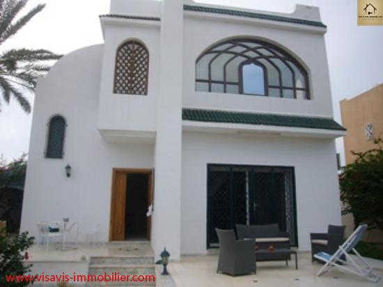 Villa de prestige a vendre a djerba tunisie petites for Achat maison en tunisie