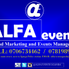 ALFA EVENTS OUTDOOR ADVERTISING