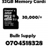 32GB Memory Cards